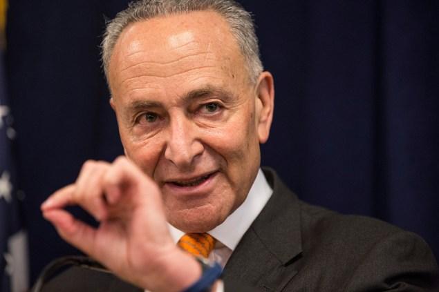Sen. Charles Schumer. (Photo: Andrew Burton/Getty Images)