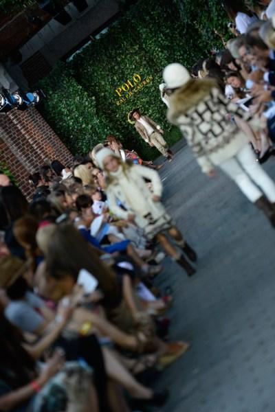 The Ralph Lauren Children's Fashion Show at Central Park Zoo (Photo: Fernanda Calfat/Getty Images)