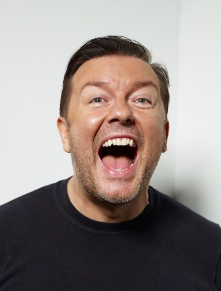 TORONTO, ON - SEPTEMBER 14: Director Ricky Gervais from the film 'Invention of Lying' poses for a portrait during the 2009 Toronto International Film Festival at The Sutton Place Hotel on September 14, 2009 in Toronto, Canada. (Photo by Matt Carr/Getty Images)