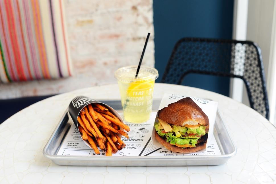 Guac Burger (Photo: by CHLOE).