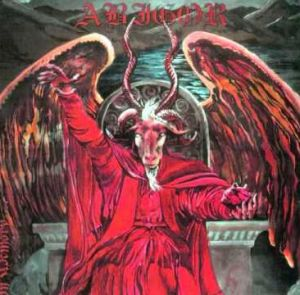 A Slayer album cover, featuring Baphomet.