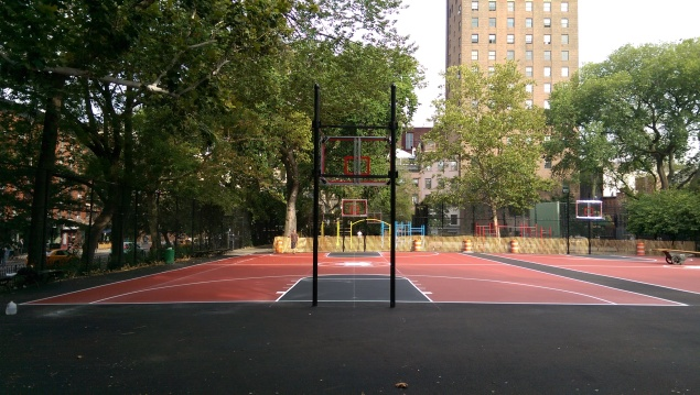 The new court, which reopens today, cost around $300,000 (Photo: BeCore NYC).