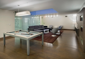 Instrata residents can always bond over a game of billiards... (Instrata)