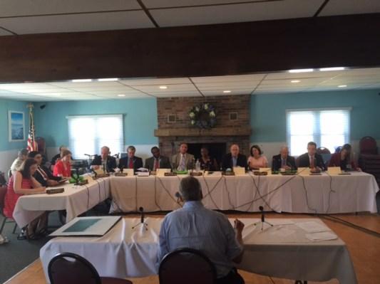The legislative committee heard testimony on the pollution of Barnegat Bay