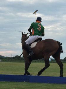 Aga Morgan on horseback. (Photo courtesy Aga Morgan)