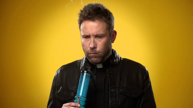 Michael Rosenbaum on Impastor.