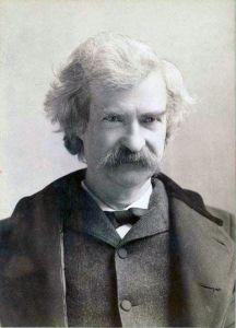 Mark Twain (New York Public Library Digital Gallery)