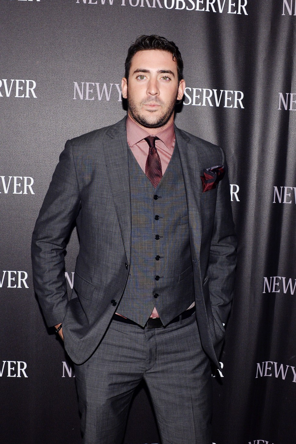 Matt Harvey attends The New York Observer's New Look Hosted by Jared Kushner and Joseph Meyer (Photo: Patrick McMullan)