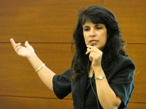 Israeli attorney Nitsana Darshan-Leitner has reportedly won $1 billion in judgments against extremist groups. (Photo Gail Bergman)