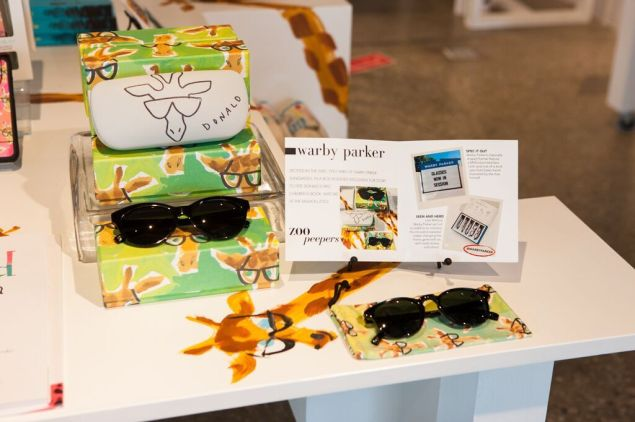 The Warby Parker creations (Photo: Courtesy)