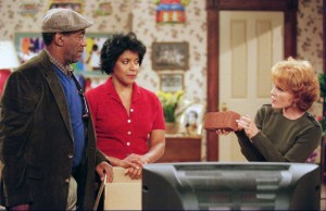 On 'Cosby,' the CBS successor to NBC's megahit 'The Cosby Show,' co-star Madeline Kahn appears with Bill Cosby and his tv wife, Phylicia Rashad.