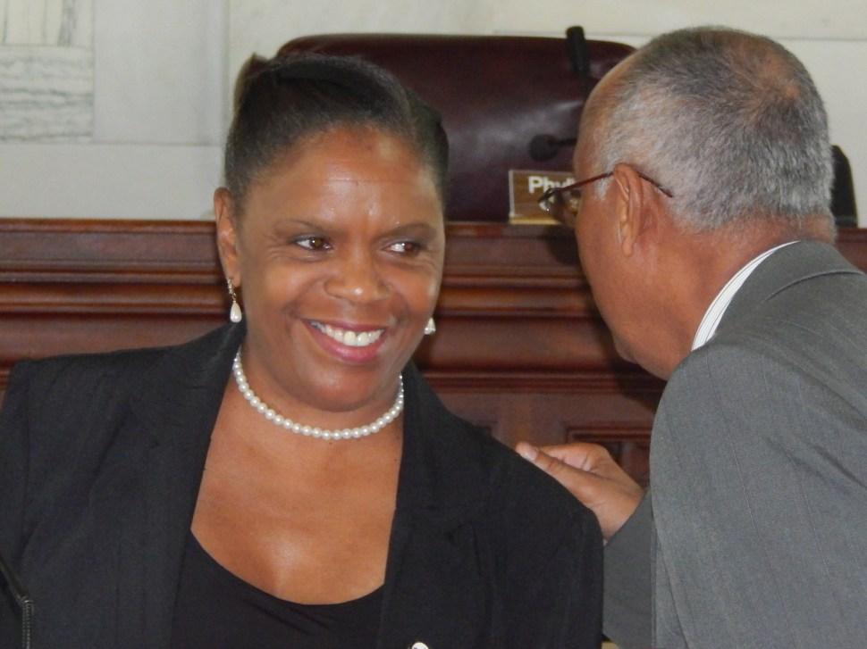 Trenton Councilwoman Phyllis Holly-Ward