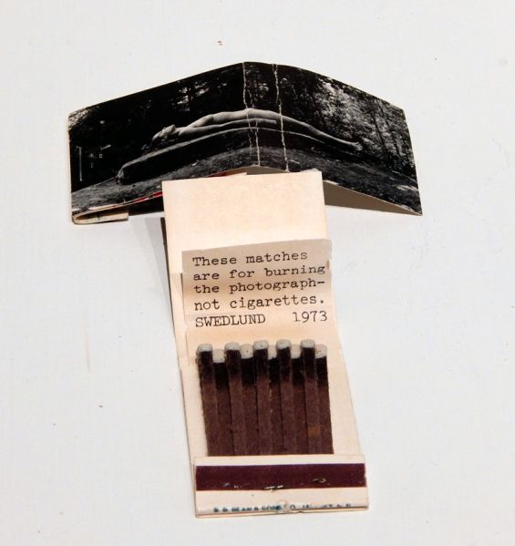 Charles Swedlund, Pyro (Burn) Matchbook, 1973. (Photo: Courtesy Higher Pictures)