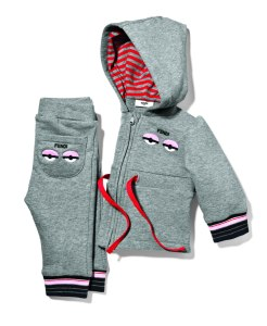 Fendi sweatshirt and sweatpants, approximate price $450. (Photo: Saks Fifth Avenue)
