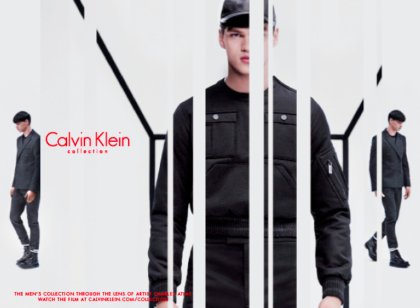 A campaign image from the Calvin Klein Men's Fall 2015 Collection (Photo: Calvin Klein Official Website)