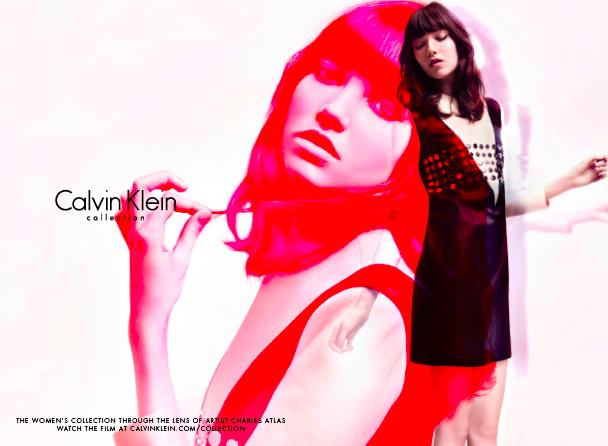 A still from the Calvin Klein Women's 2015 Fall Collection (Photo: Calvin Klein Official Website)