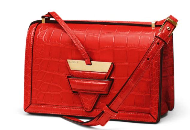 Loewe Scarlet Crocodile Barcelona Bag (Photo: Courtesy)