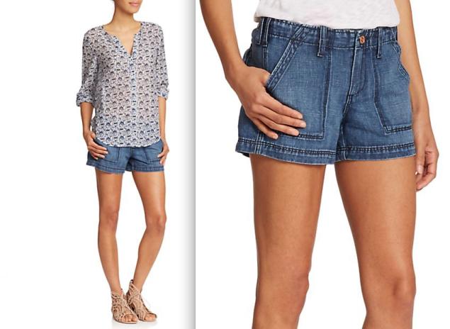Joie Muse Denim Shorts, $188