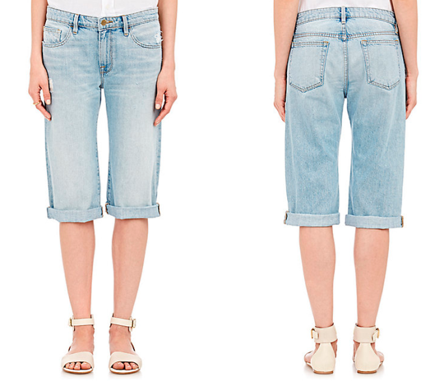 Frame Denim Le Vintage Bermuda Shorts, $190