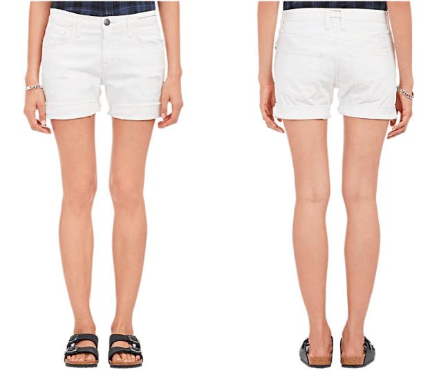 Current/Elliot Slouchy Cut-Off Shorts, $218