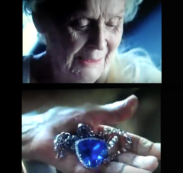 """i must cast this necklace into the ocean now"" (Photo: Titanic"