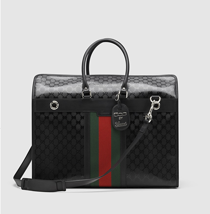 Gucci Dog Carrier, $2,600, Gucci.com. (Photo: Gucci.com)