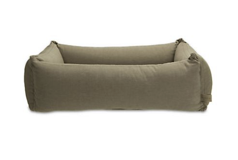 Mungo Maud Quilted Cotton Dog Bed, $355-$485, Saks.com. Photo: Saks Fifth Avenue)