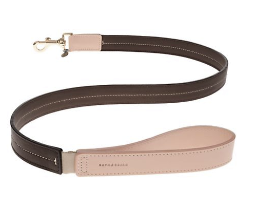 Mungo & Maud Bauhaus Leather Dog Leash, $190, Saks.com (Photo: Saks Fifth Avenue)