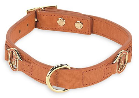Etro Bugrane Leather Dog Collar, $170, Saks.com. (Photo: Saks Fifth Avenue)
