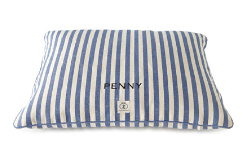 Harry Barker Personalized Vintage-Inspired Dog Bed, $125-$145, NeimanMarcus.com. (Photo: Neiman Marcus)