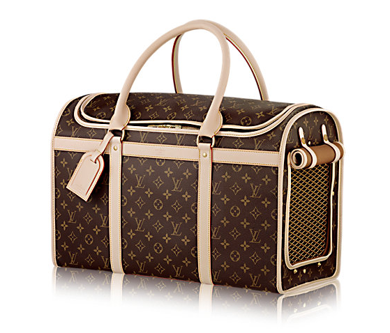 Louis Vuitton Dog Carrier 50, $2,940, us.louisvuitton.com. Photo: Louis Vuitton)