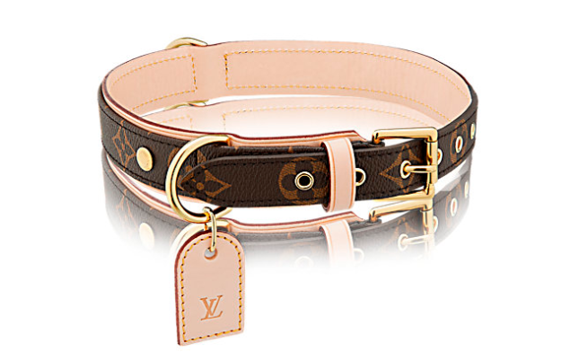 Louis Vuitton Baxter Dog Collar, $375, us.louisvuitton.com. (Photo: Louis Vuitton)
