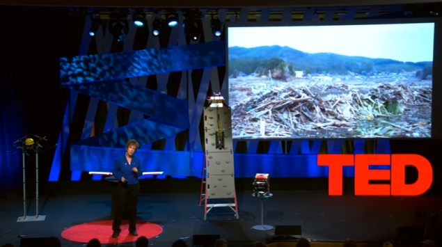 Robin Murphy at TEDWomen 2015. (Screengrab: Ted.com)