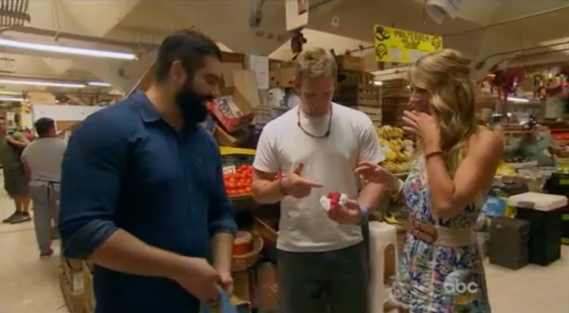 """""""What is this fruit? Josh like this fruit!"""" (Photo: ABC)"""