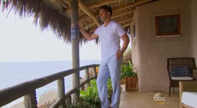 """""""i hate sam so much, i've been miserably staring out at this ocean for the past 4 hours"""" (Photo: ABC)"""
