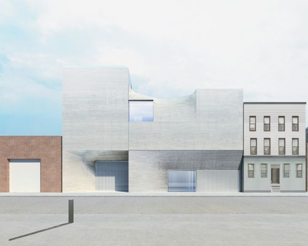 SO-IL's design for a gallery to be completed in 2017.