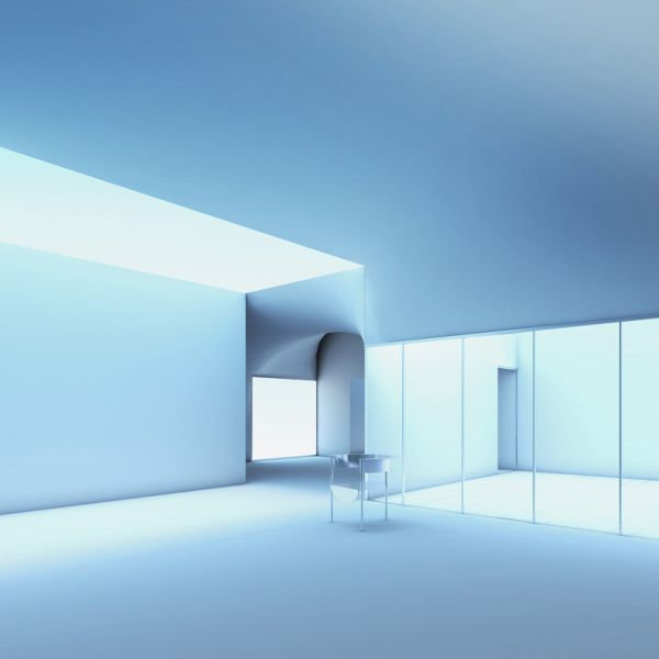 An interior design for the future Artes Amant gallery.