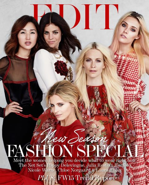 The cover of The Edit (Photo: Victor Demarchelier and courtesy of The EDIT, NET-A-PORTER.com)