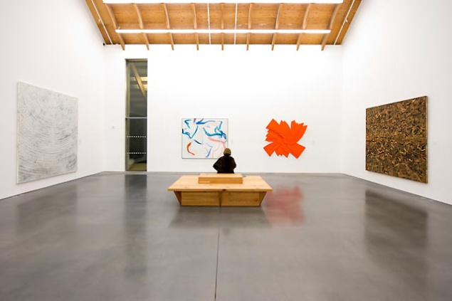 Installation view of The Permanent Collection: Art. Illuminated. (Photo: Courtesy Parrish Art Museum)