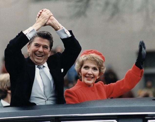Ronald and Nancy Reagan circa 1981 (Wikimedia)