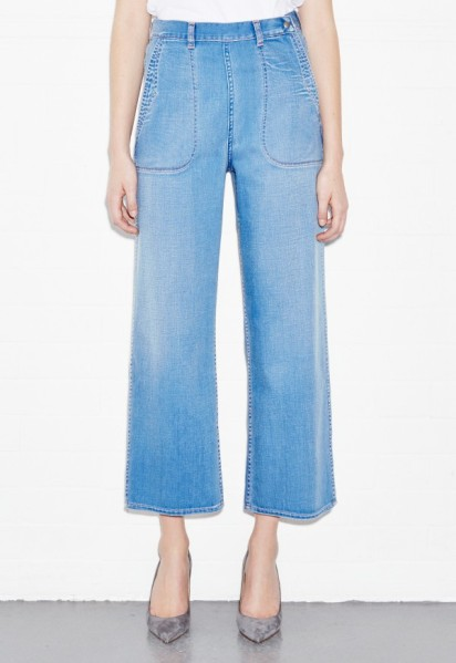 MiH Chambray Western Pant, $325, Mih-Jeans.com (Photo: MiH)