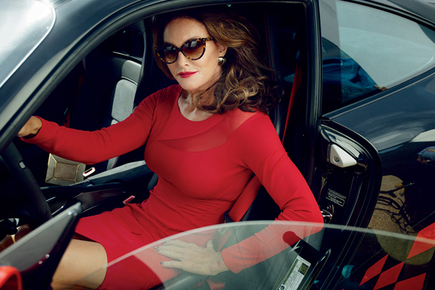 Caitlyn Jenner for Vanity Fair, as photographed by Annie Leibovitz for its just-released transgender special issue. (Courtesy: Vanity Fair)
