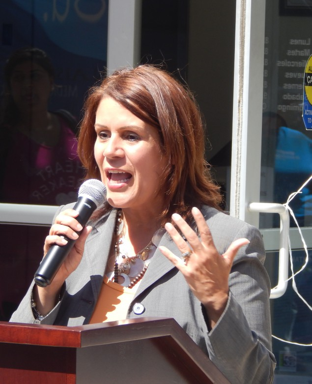 Perth Amboy Mayor Wilda Diaz.