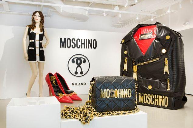 The Moschino store in Soho (Photo: Courtesy)