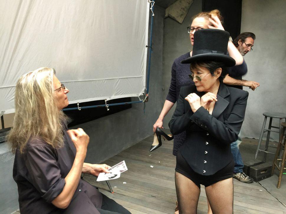Annie Leibovitz, Yoko Ono (Photo: Pirelli).