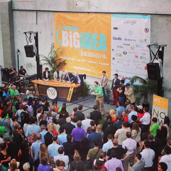 A presentation during New Orleans Entrepreneur Week, one of Idea Village's core programs to make the city a hub for entrepreneurship. (Photo: Facebook)