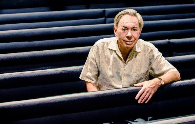 Andrew Lloyd Webber. (Photo: Oleg Tolstoy for Observer)