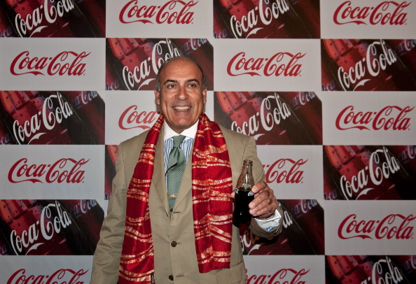 Muhtar Kent, the chairman and CEO of Coca-Cola, has put his Astor Place condo on the market. (MANAN VATSYAYANA/AFP/GettyImages)