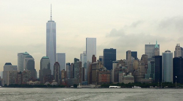 The new World Trade Center building.