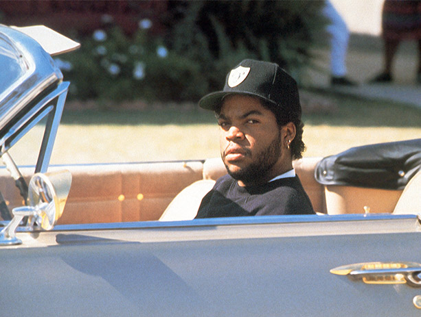 Ice Cube looking hard in Boys n the Hood.